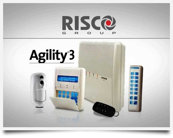 Alarme anti-intrusion sans fil radio RISCO Agility